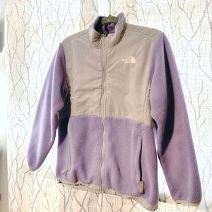 { The North Face } Lavender Denali Fleece Jacket